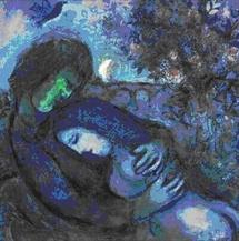 Chagall - Le Rêve des Amoureux