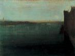 James Whistler - Nocturne Grey & Gold Westminster Bridge