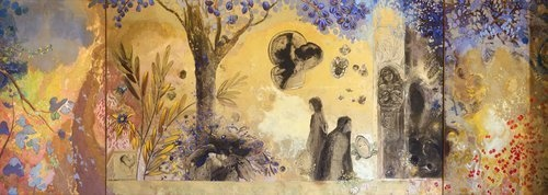 Odilon Redon - La Nuit