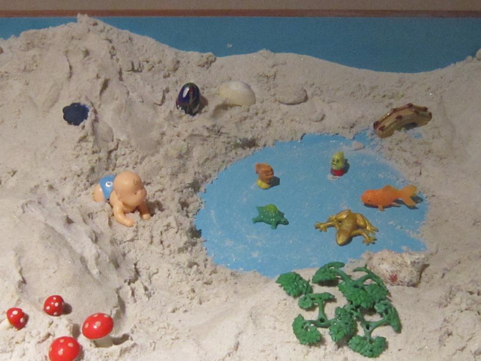 Faire un Jeu de sable