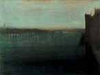 James Whistler - Nocturne Grey & Gold Westminster Bridge