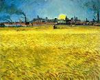 Van Gogh - Champ de blé à Arles