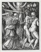 Dürer - Adam et Eve chassés du Paradis